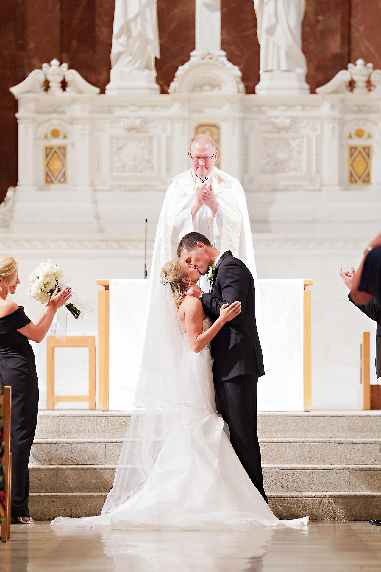 Julie Jonathan St Johns Scottish Rite Cathedral Indianapolis Wedding 087