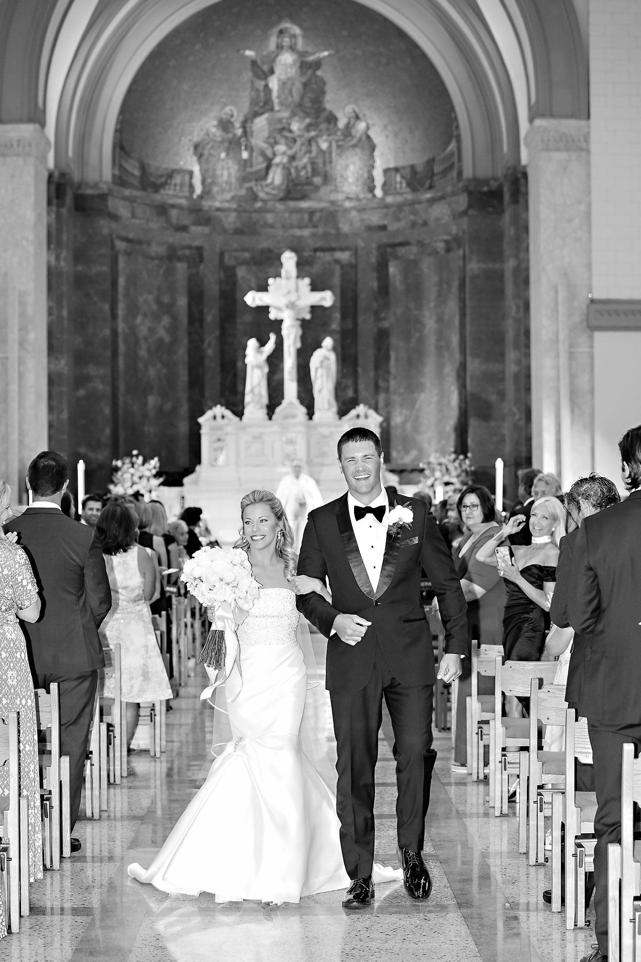 Julie Jonathan St Johns Scottish Rite Cathedral Indianapolis Wedding 090