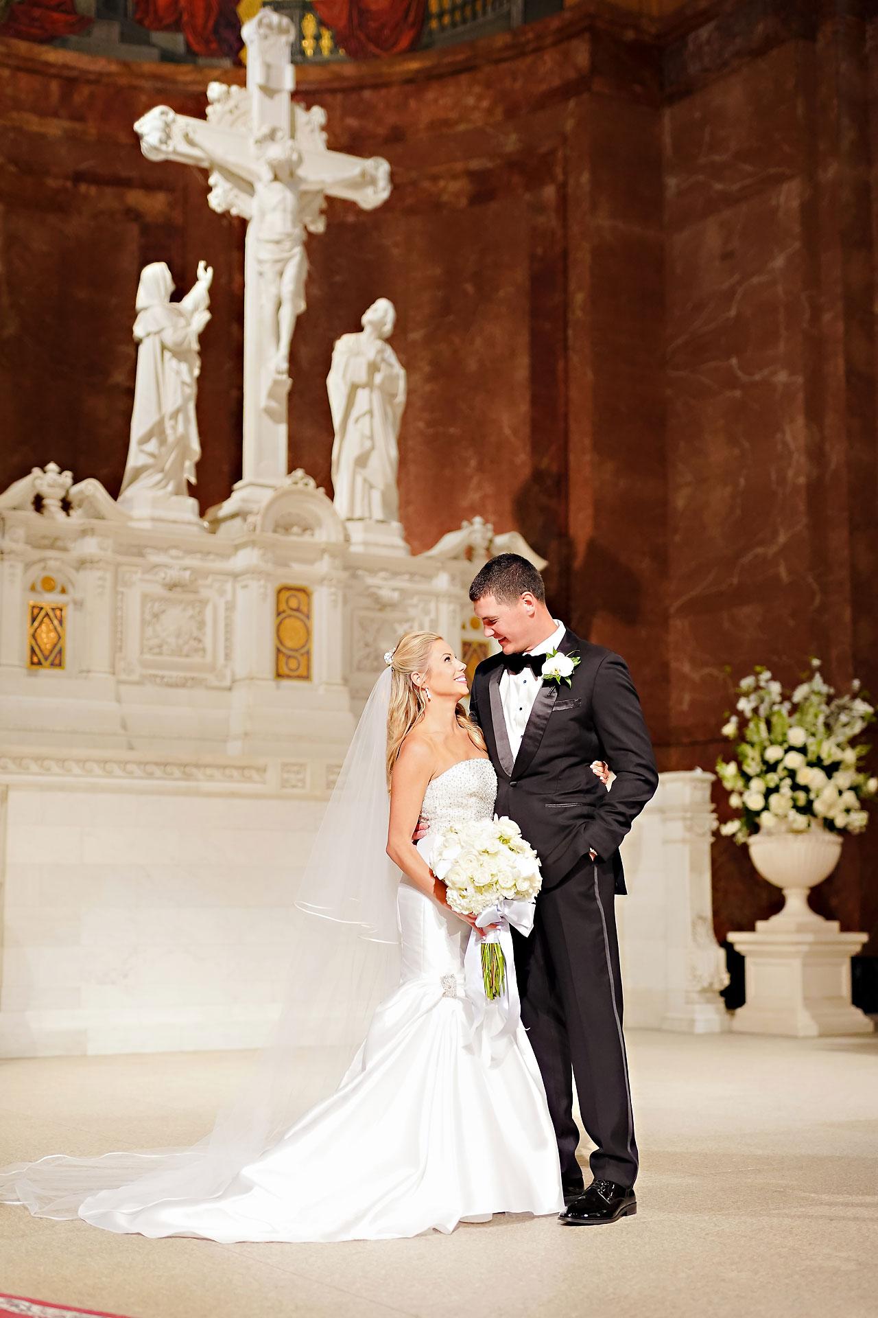 Julie Jonathan St Johns Scottish Rite Cathedral Indianapolis Wedding 091