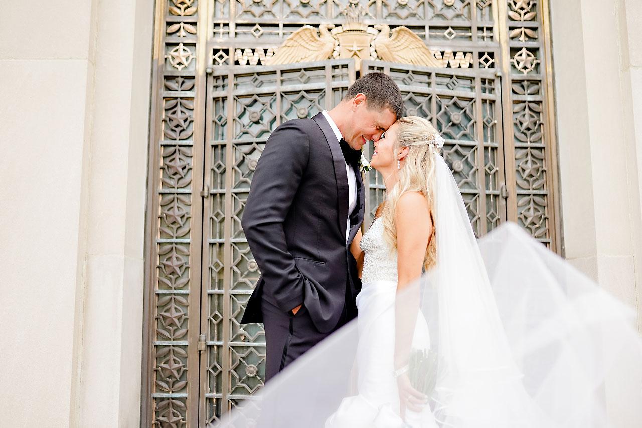 Julie Jonathan St Johns Scottish Rite Cathedral Indianapolis Wedding 156