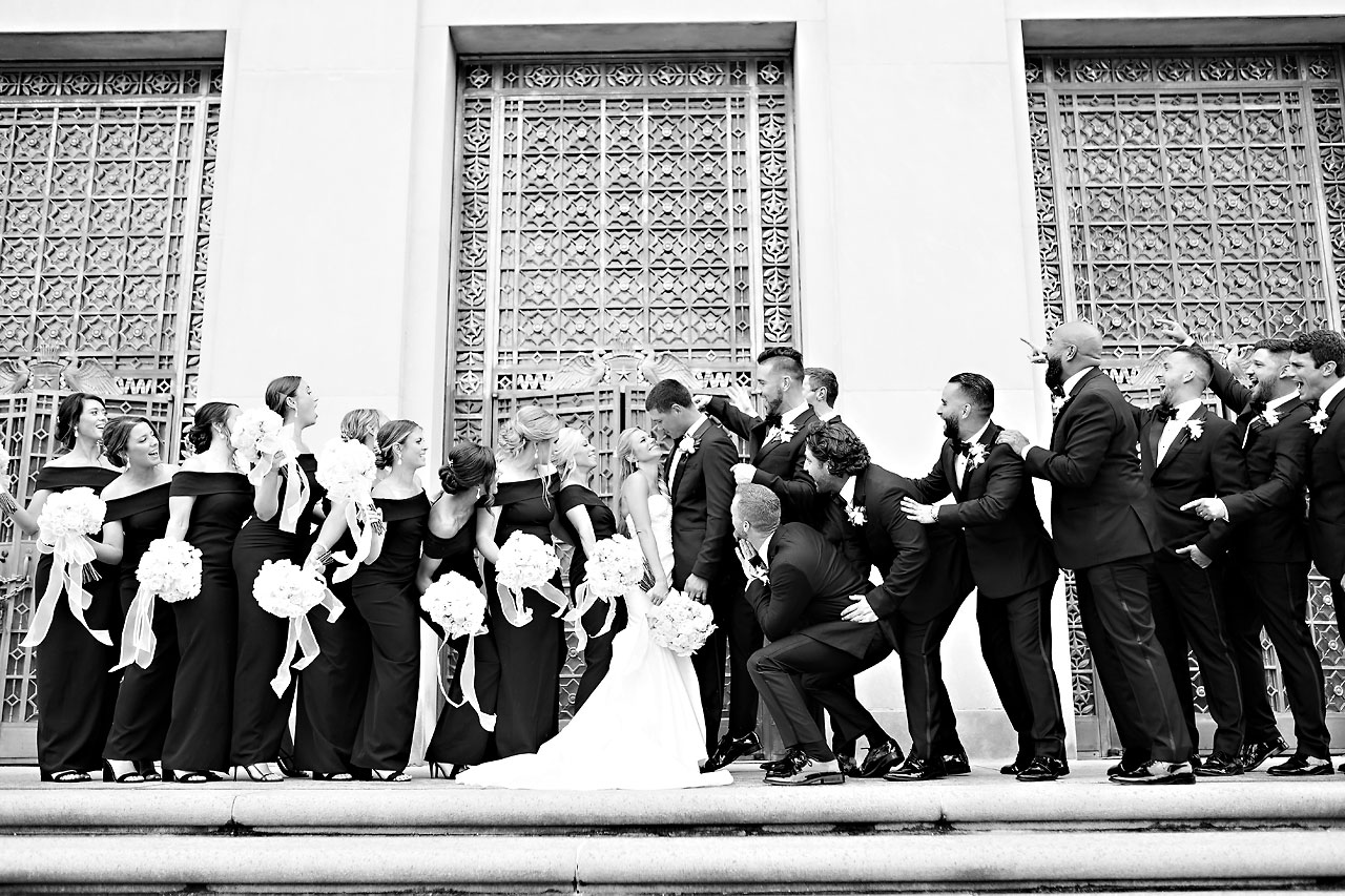 Julie Jonathan St Johns Scottish Rite Cathedral Indianapolis Wedding 174