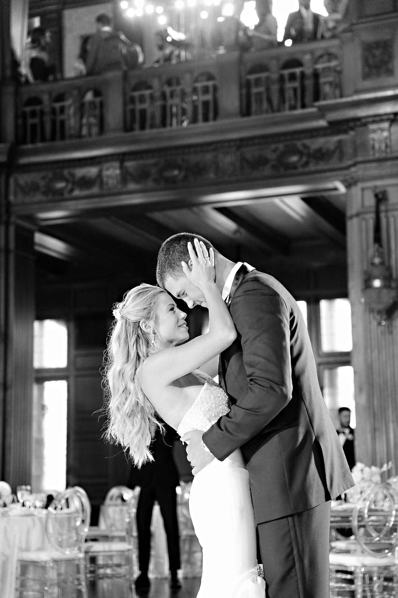 Julie Jonathan St Johns Scottish Rite Cathedral Indianapolis Wedding 244