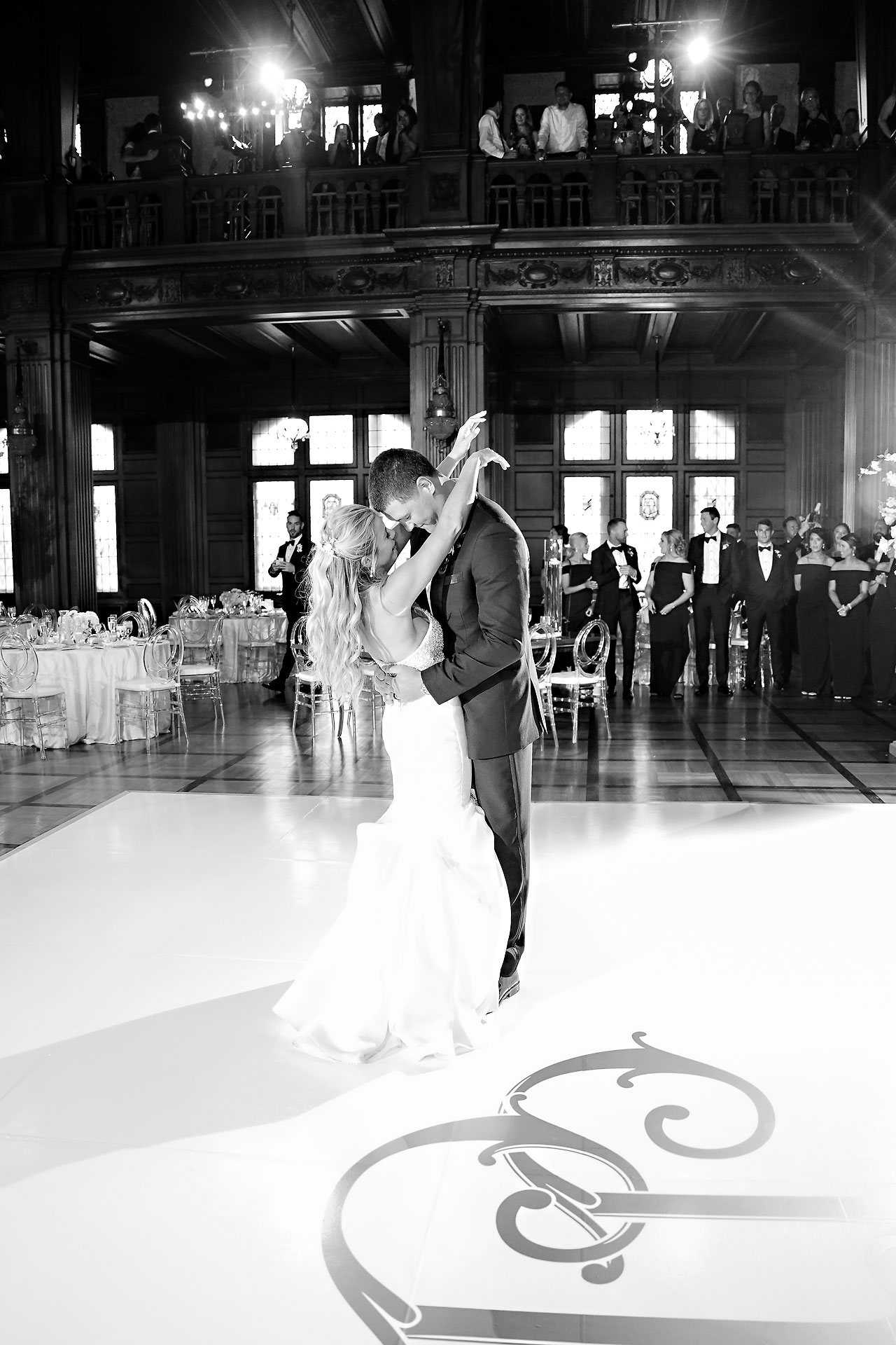 Julie Jonathan St Johns Scottish Rite Cathedral Indianapolis Wedding 246