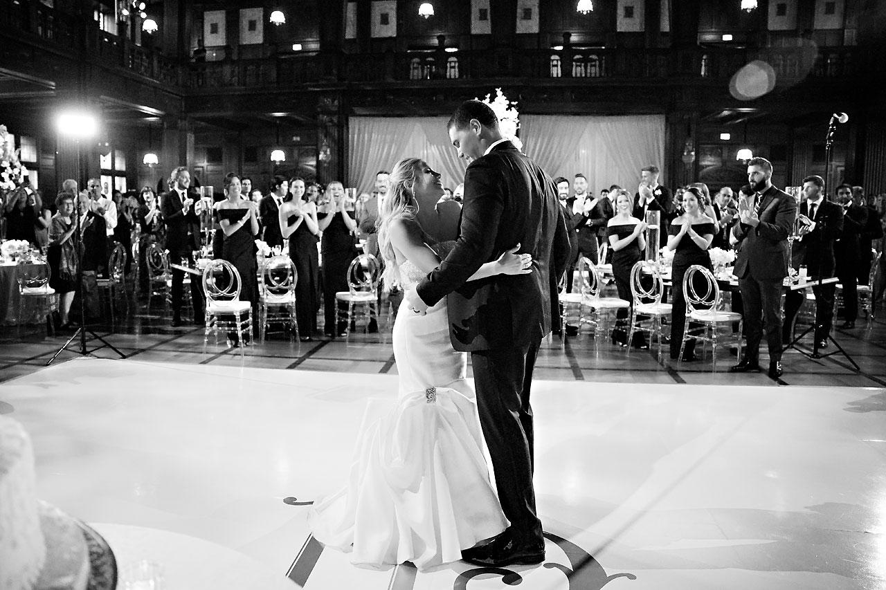 Julie Jonathan St Johns Scottish Rite Cathedral Indianapolis Wedding 267