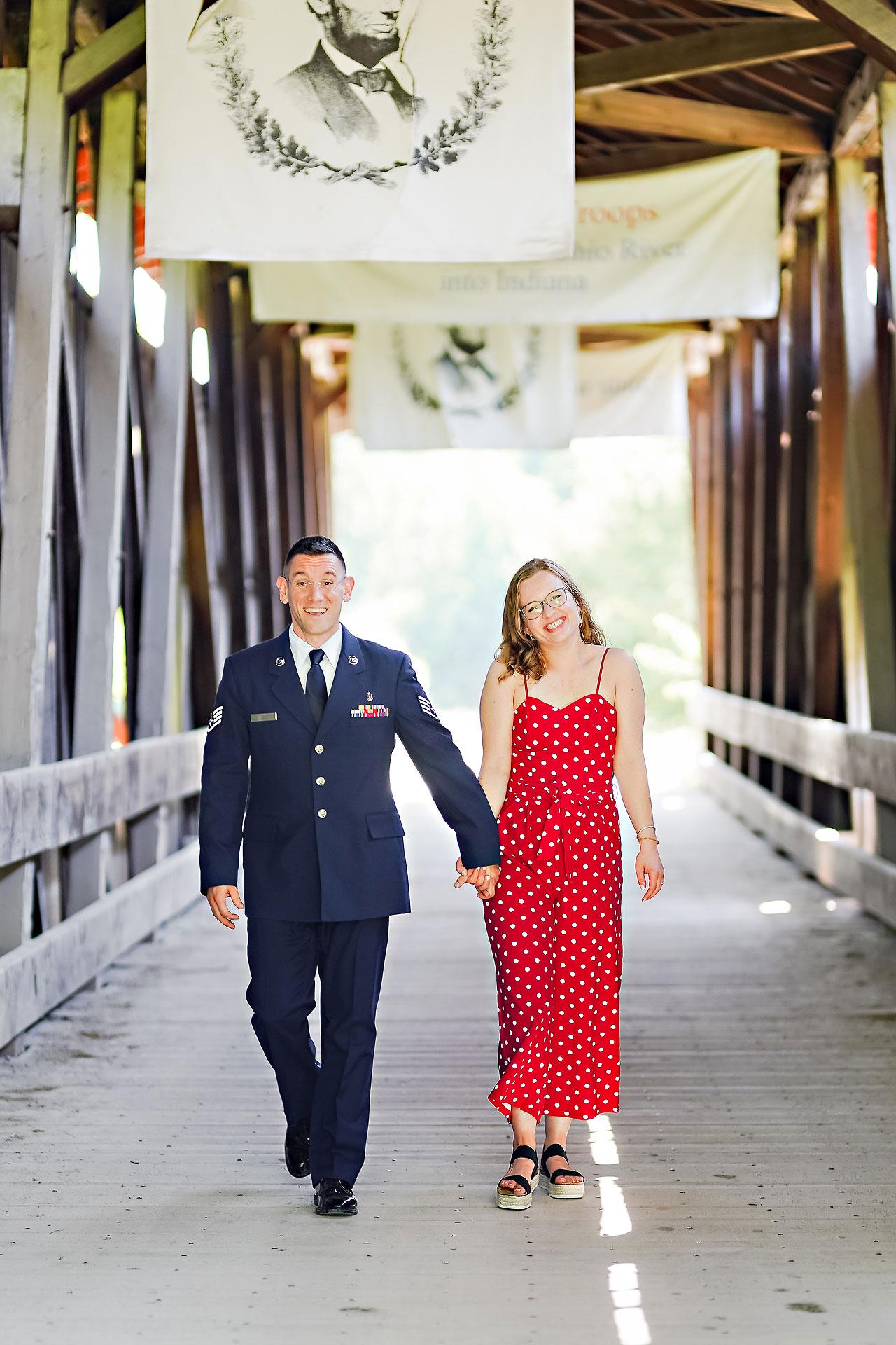 Stephanie Jeff Conner Prairie Engagement Session 062