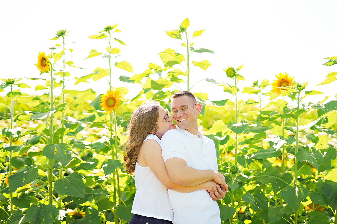 Stephanie Jeff Conner Prairie Engagement Session