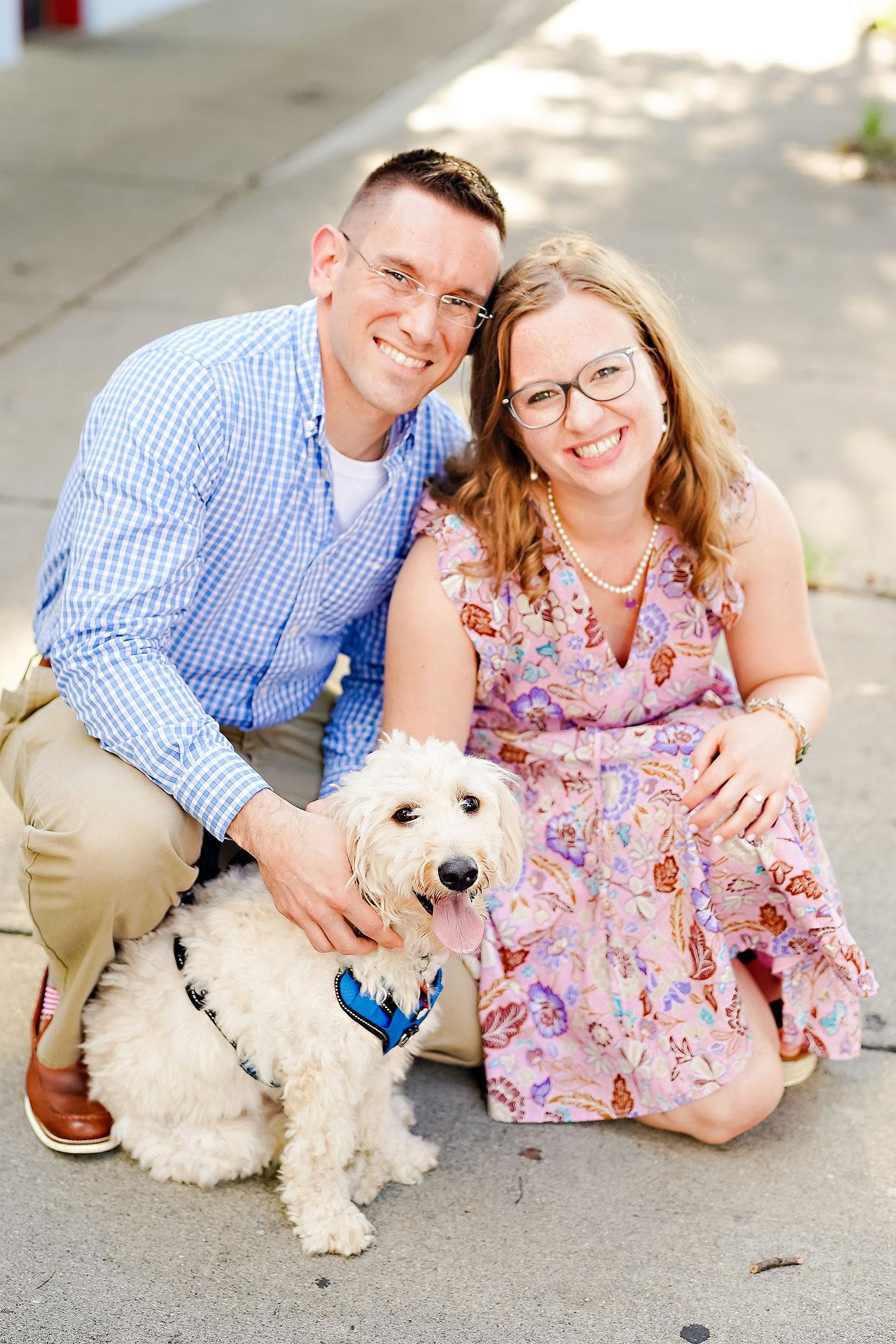 Stephanie Jeff Conner Prairie Engagement Session 112