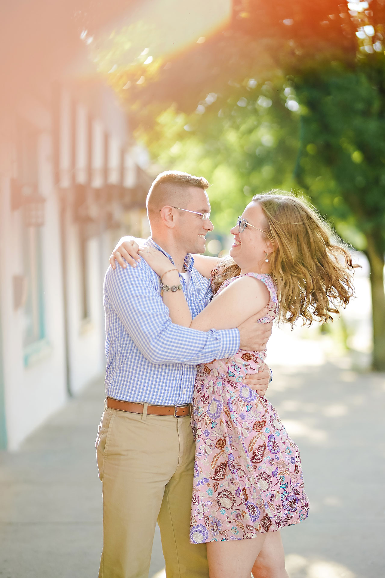 Stephanie Jeff Conner Prairie Engagement Session 116