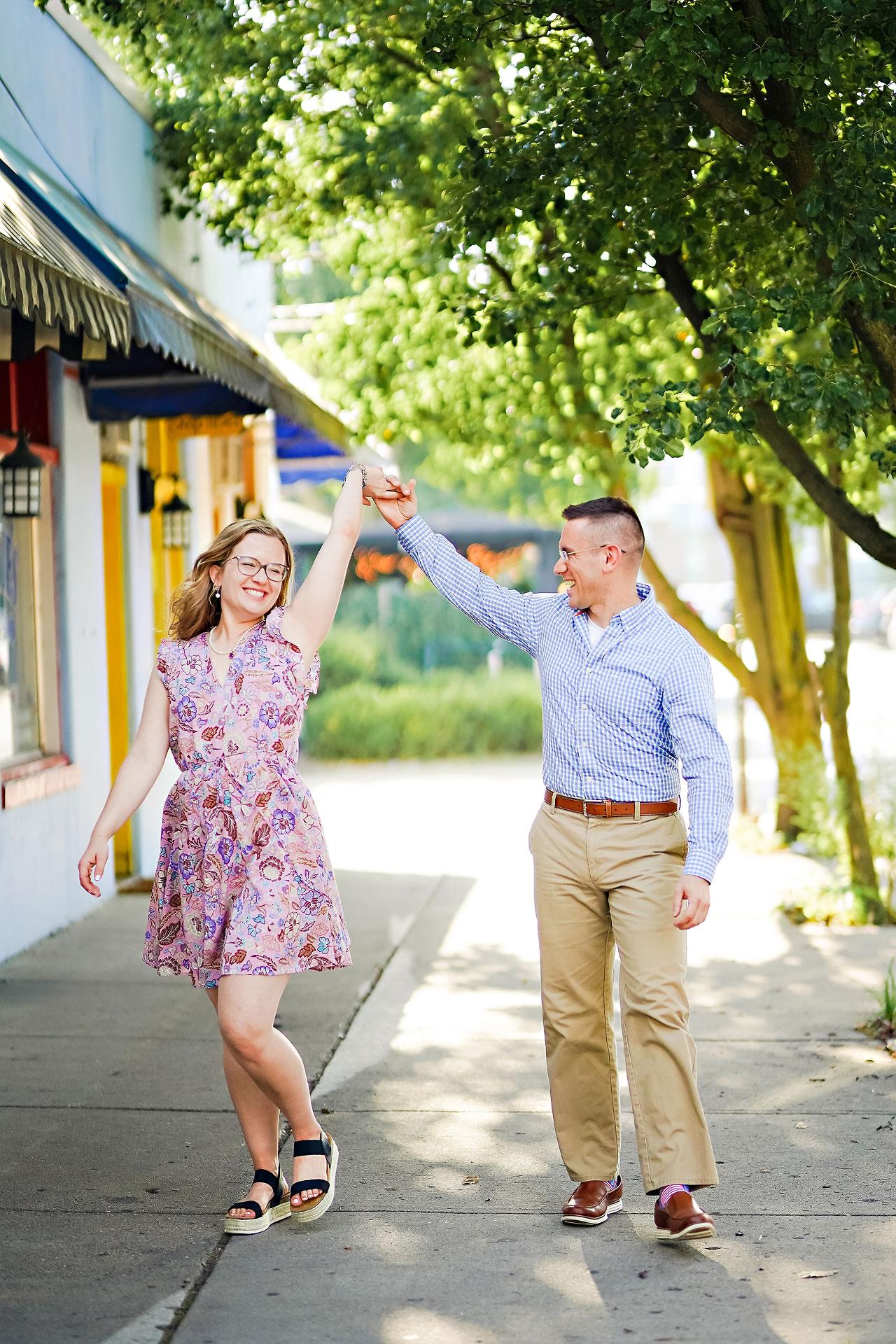 Stephanie Jeff Conner Prairie Engagement Session 132