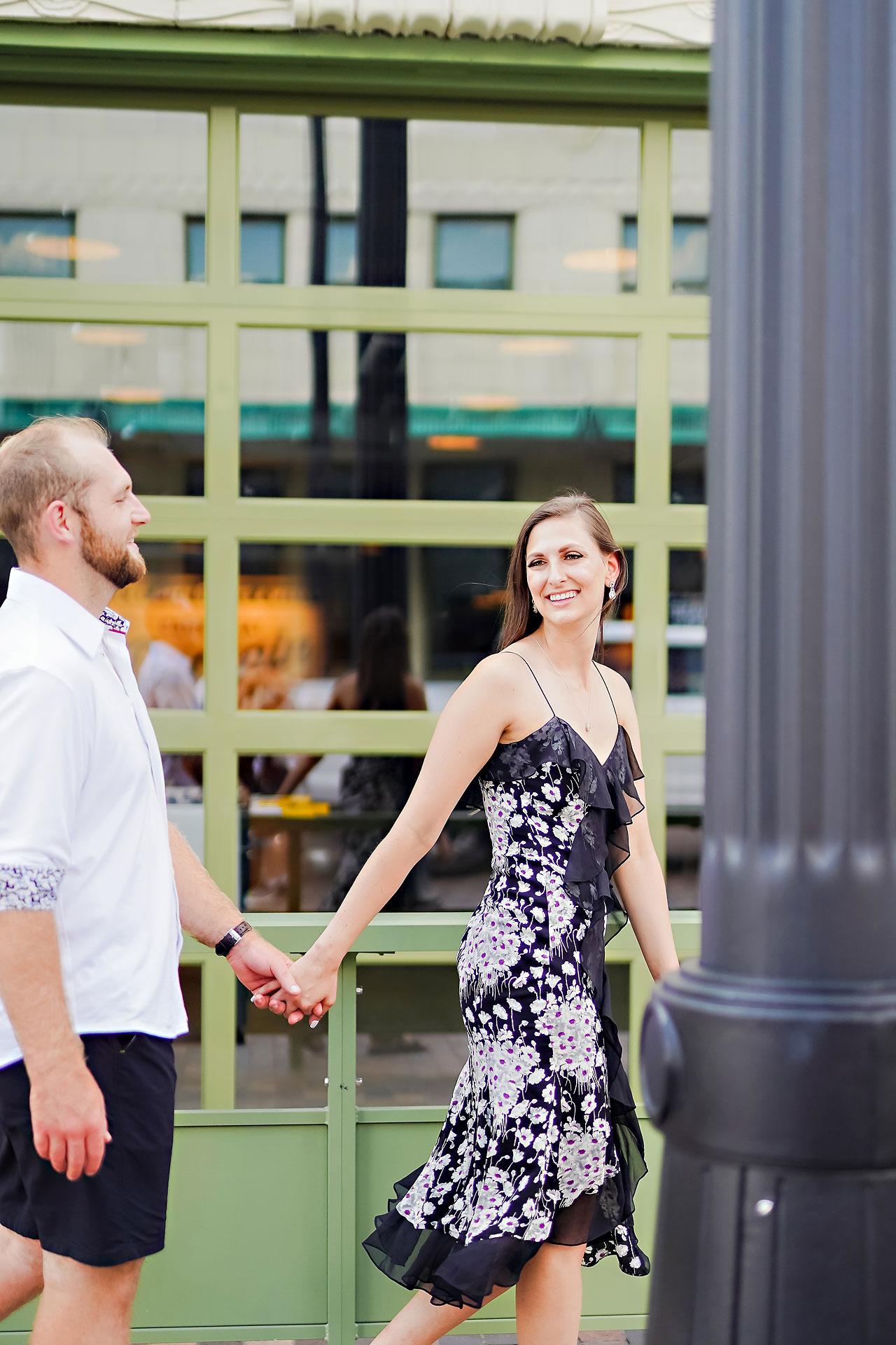 Allison Ben Bottleworks Indianapolis Engagement Session 005