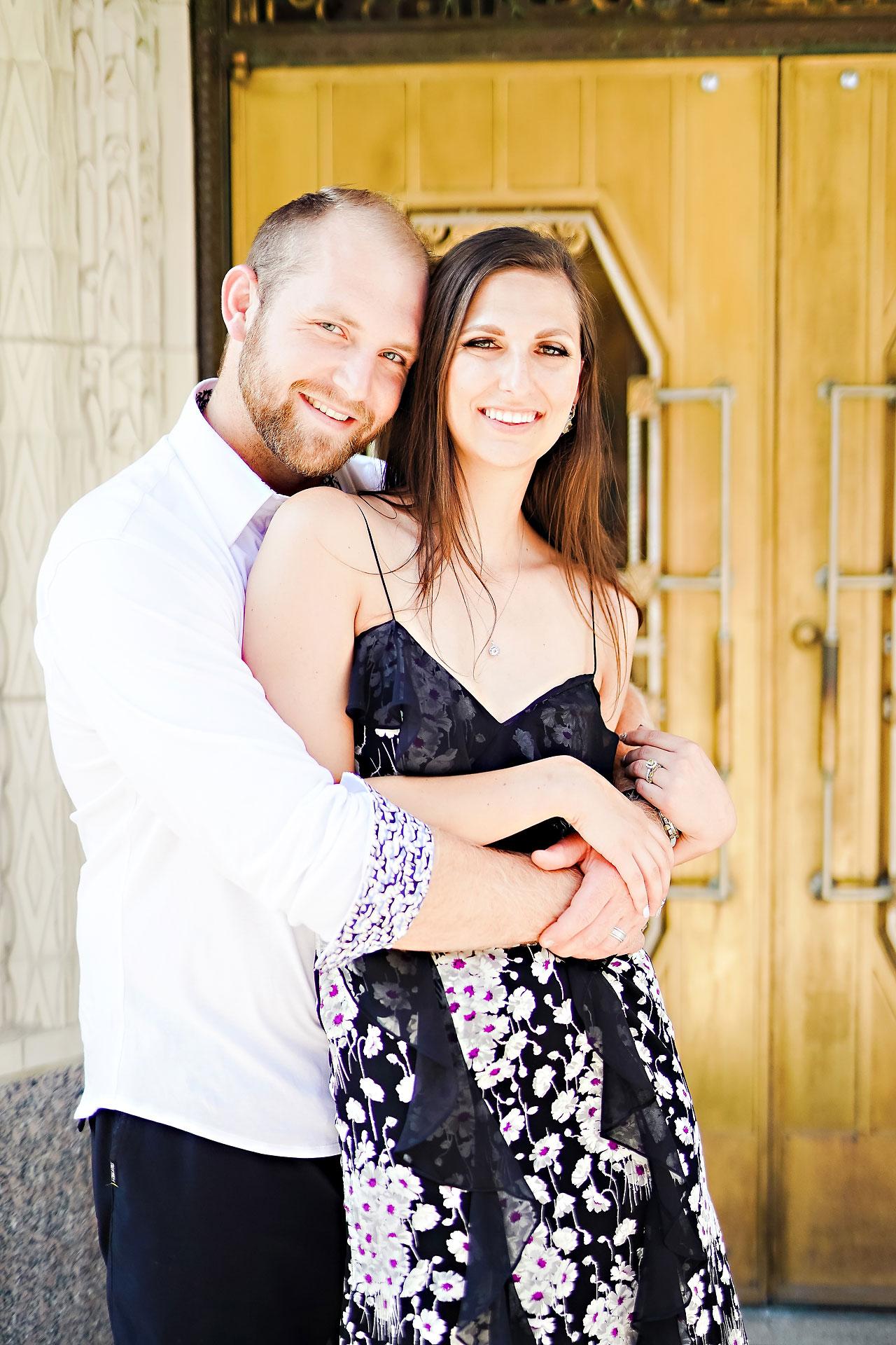 Allison Ben Bottleworks Indianapolis Engagement Session 039