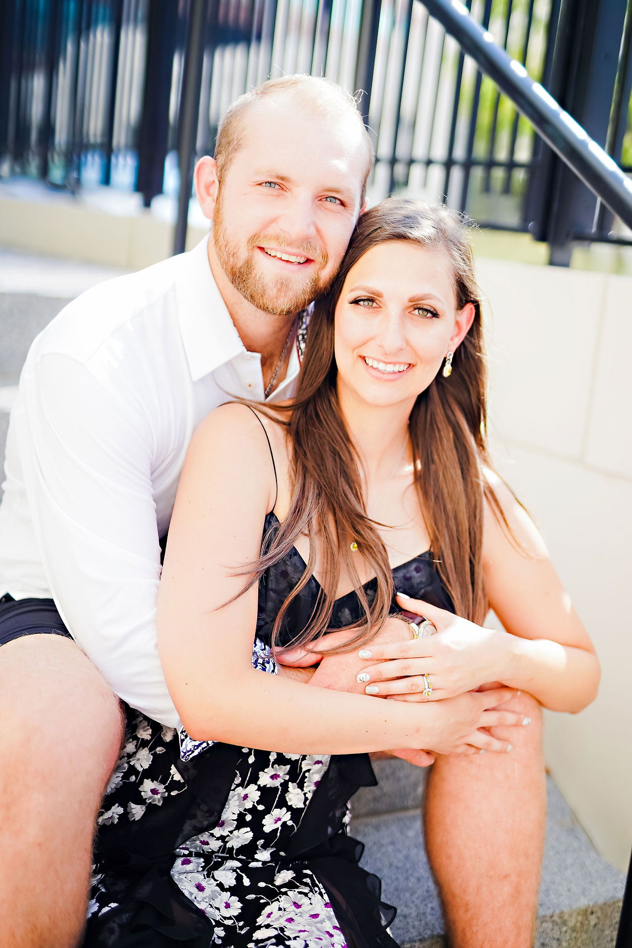 Allison Ben Bottleworks Indianapolis Engagement Session 042