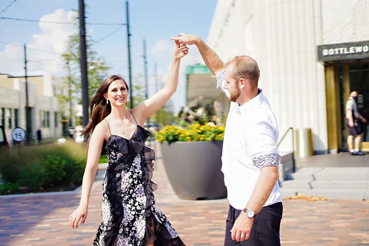 Allison Ben Bottleworks Indianapolis Engagement Session 045