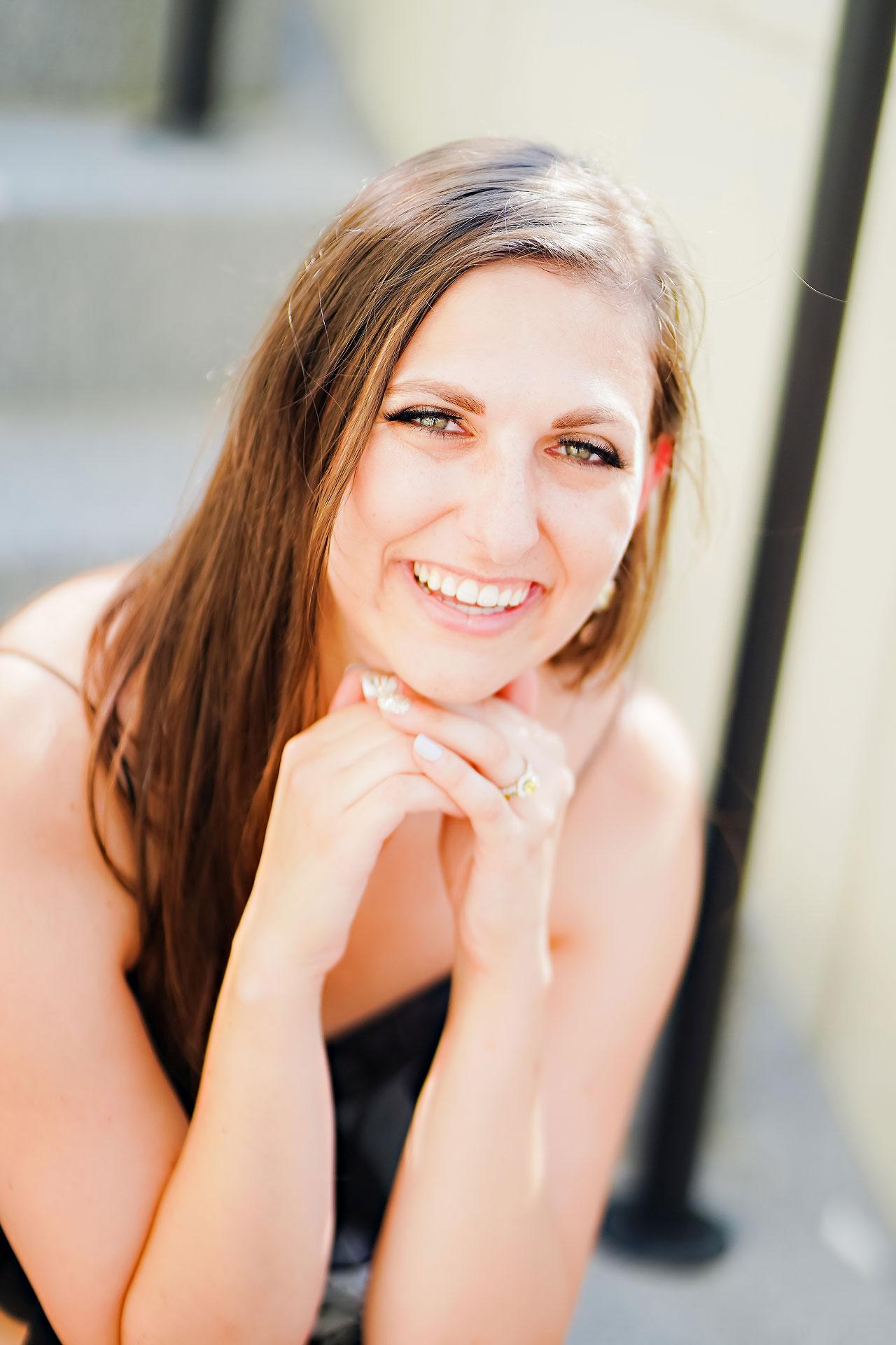 Allison Ben Bottleworks Indianapolis Engagement Session 050