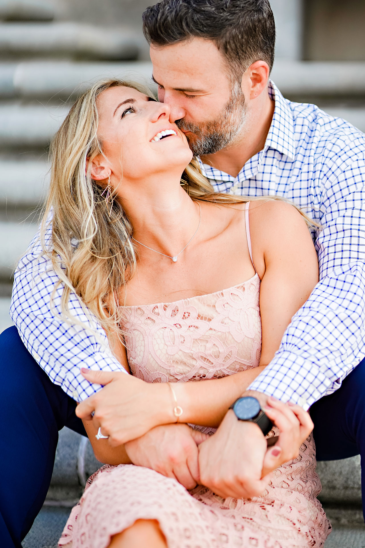 Kendall Jake Downtown Indianapolis Engagement Session 002
