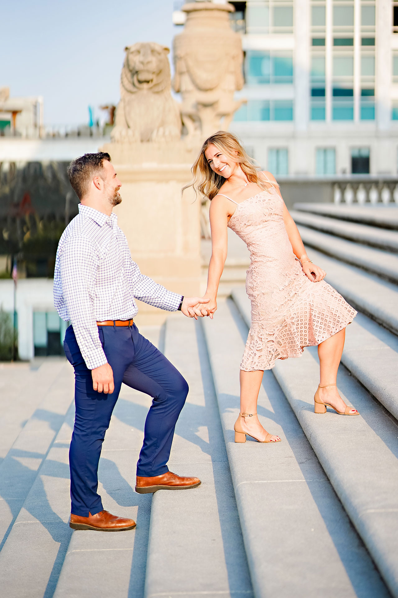 Kendall Jake Downtown Indianapolis Engagement Session 003