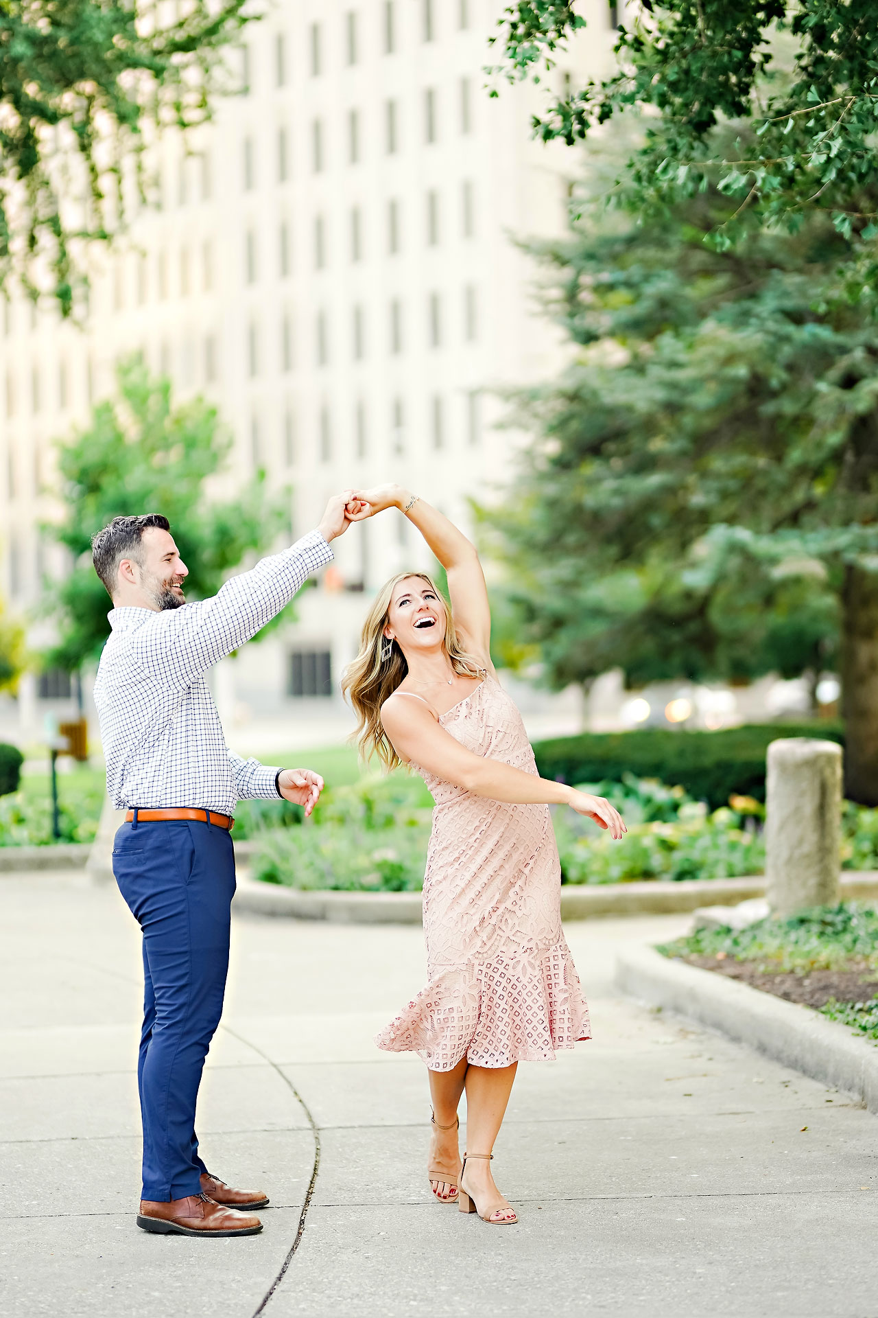 Kendall Jake Downtown Indianapolis Engagement Session 005