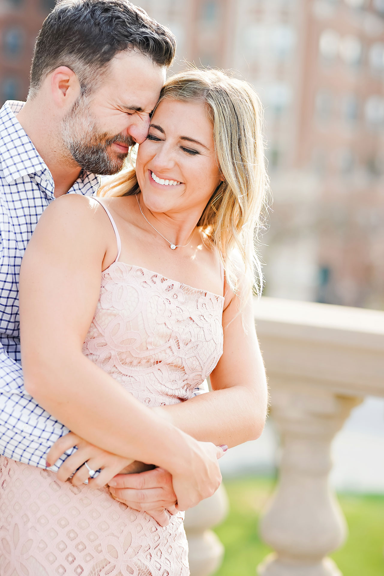 Kendall Jake Downtown Indianapolis Engagement Session 006