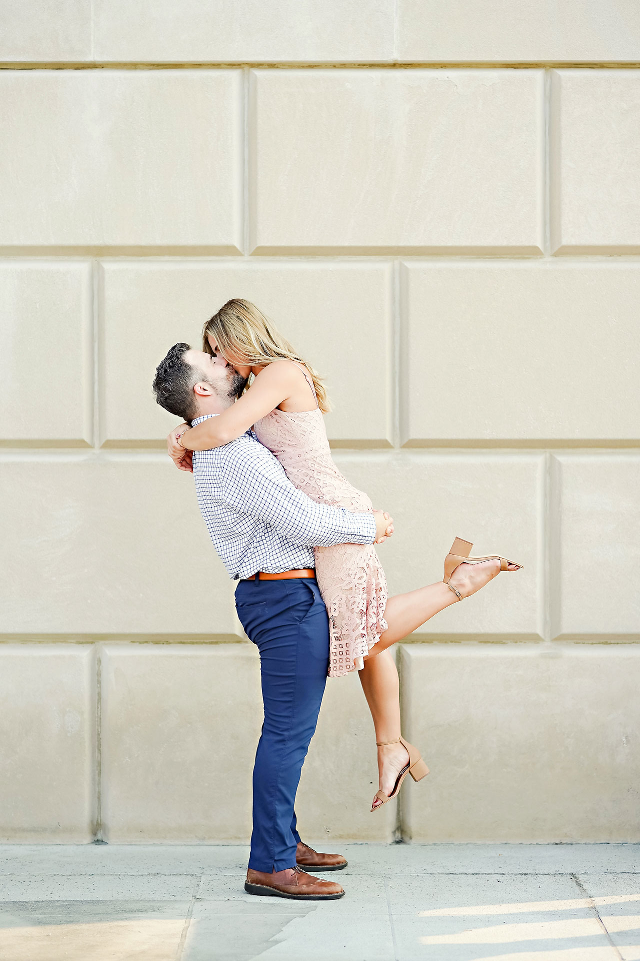 Kendall Jake Downtown Indianapolis Engagement Session 007