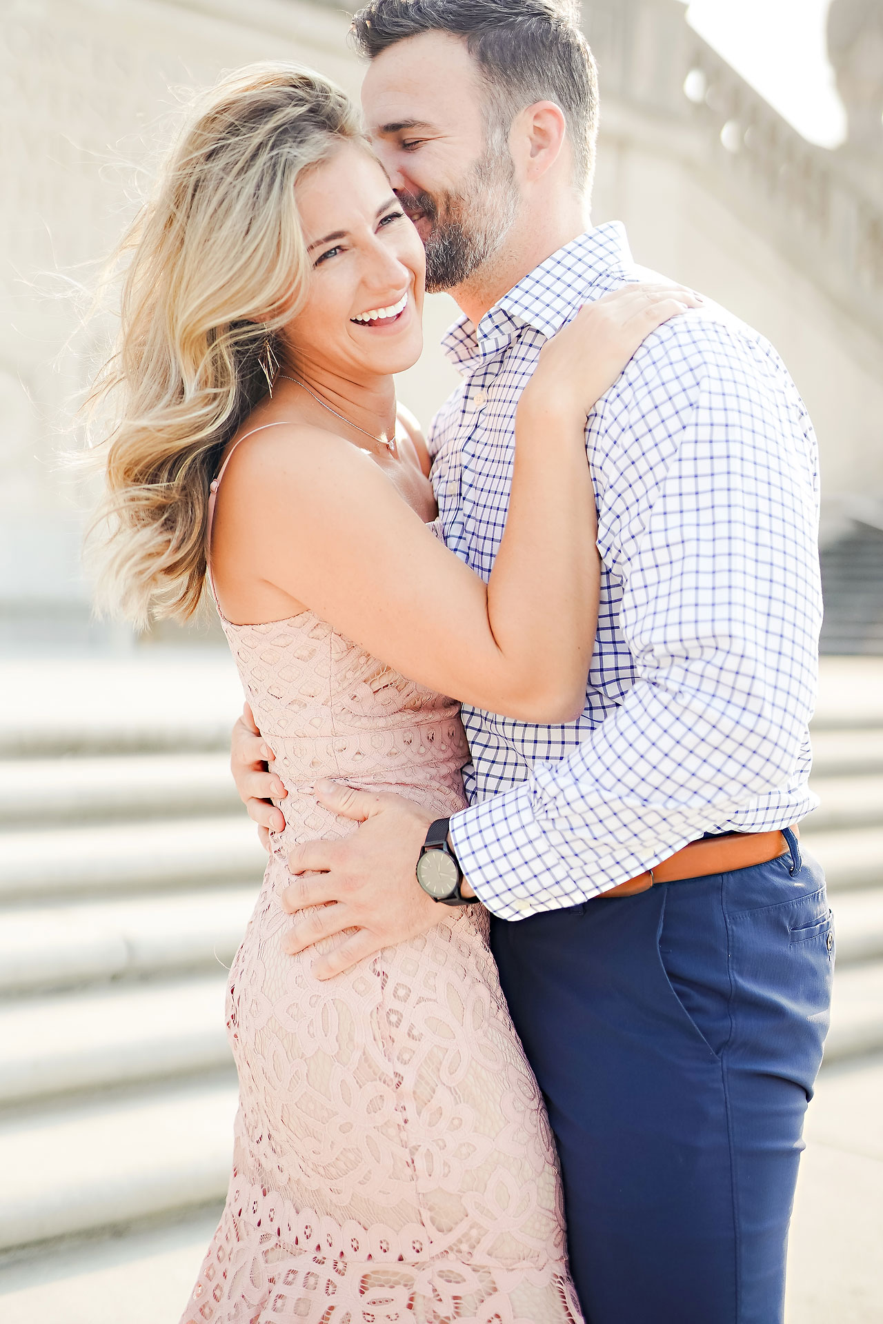Kendall Jake Downtown Indianapolis Engagement Session 008