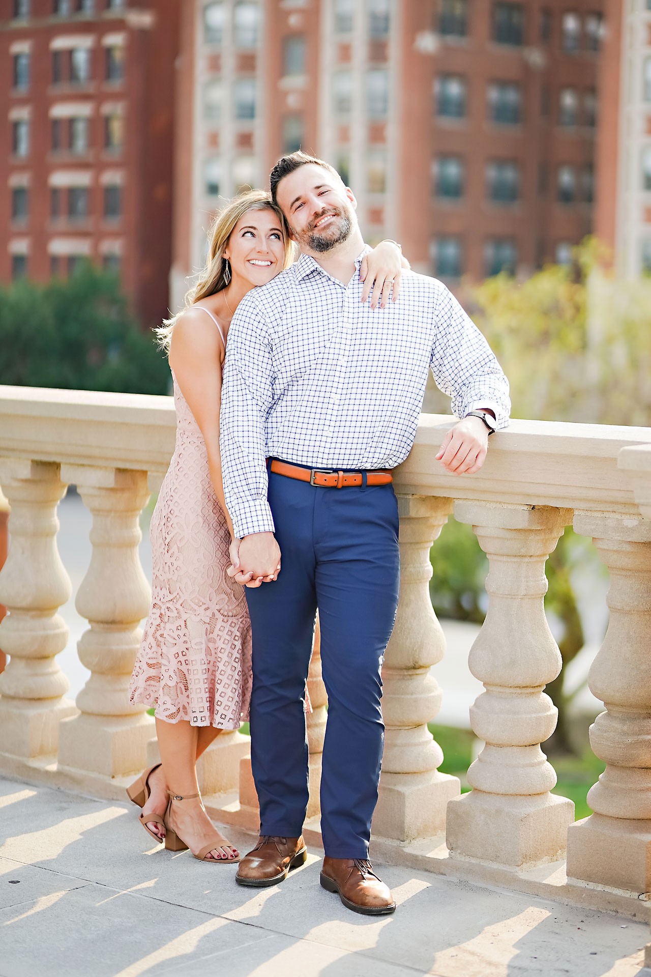 Kendall Jake Downtown Indianapolis Engagement Session 009