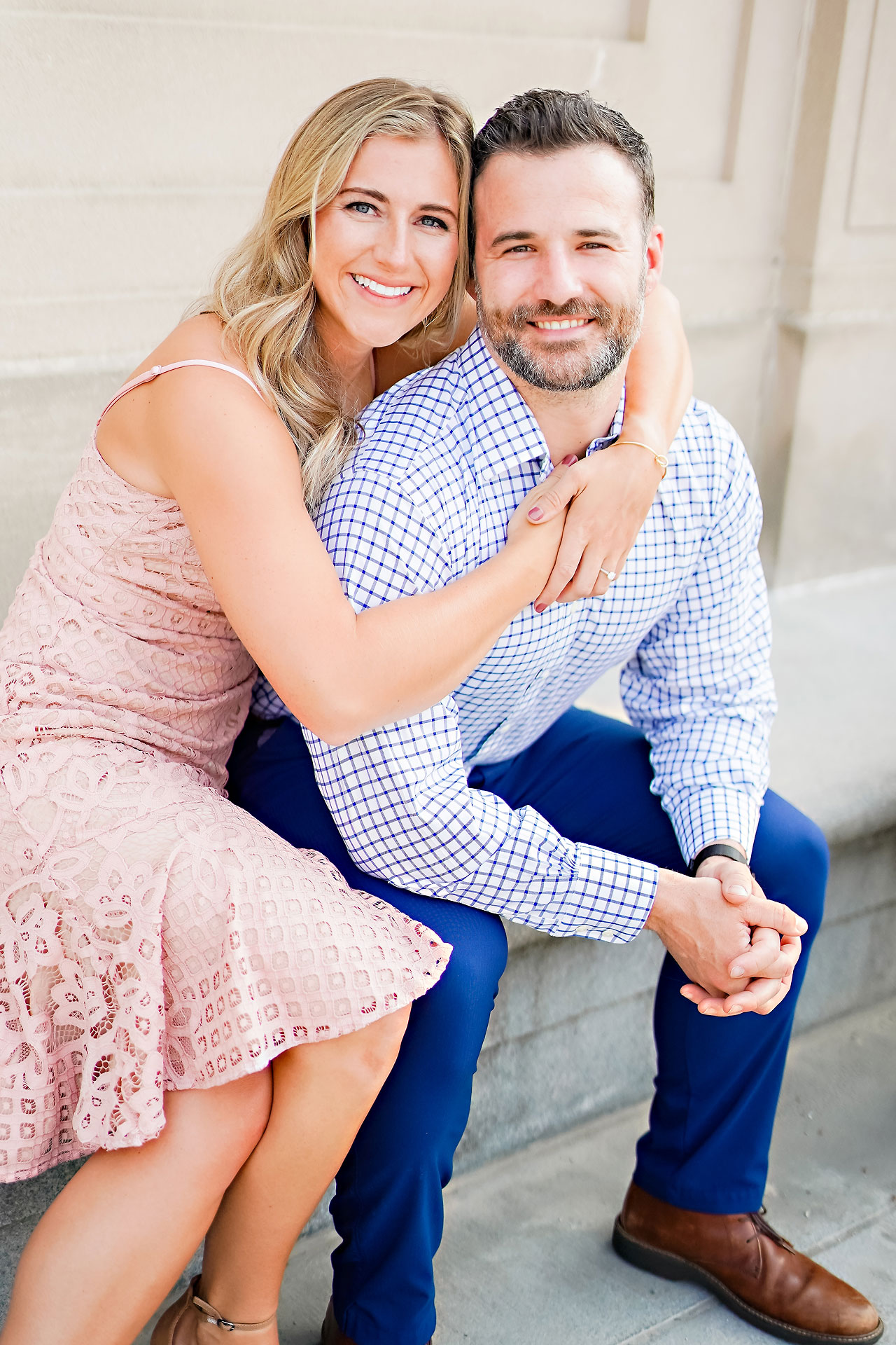 Kendall Jake Downtown Indianapolis Engagement Session 012
