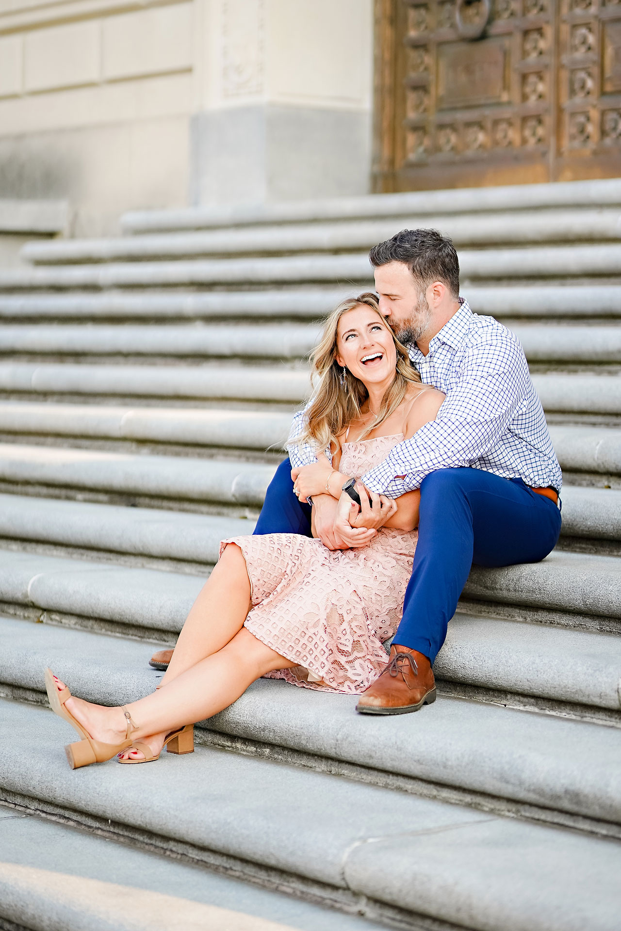 Kendall Jake Downtown Indianapolis Engagement Session 013