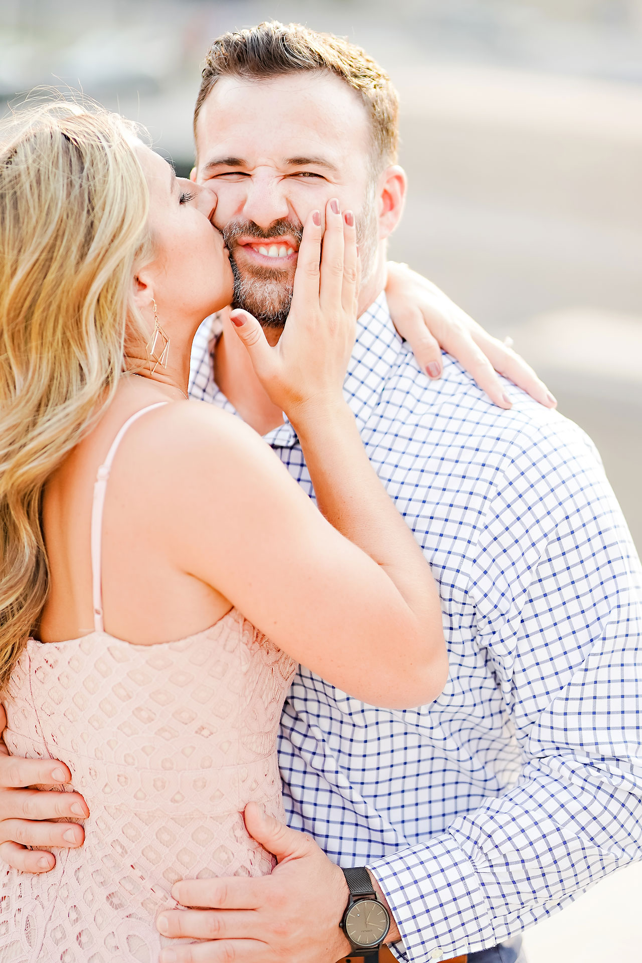 Kendall Jake Downtown Indianapolis Engagement Session 014