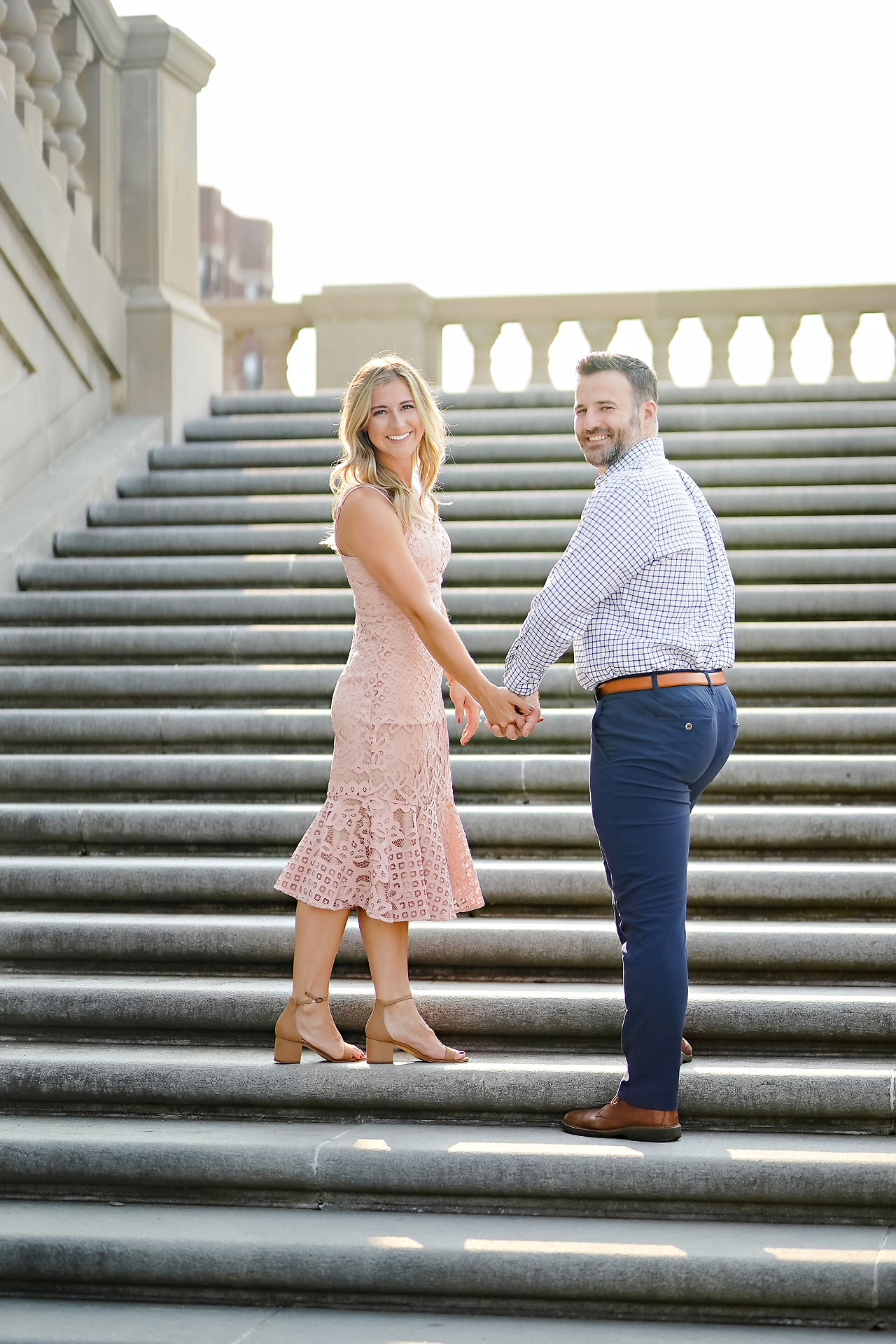 Kendall Jake Downtown Indianapolis Engagement Session 017