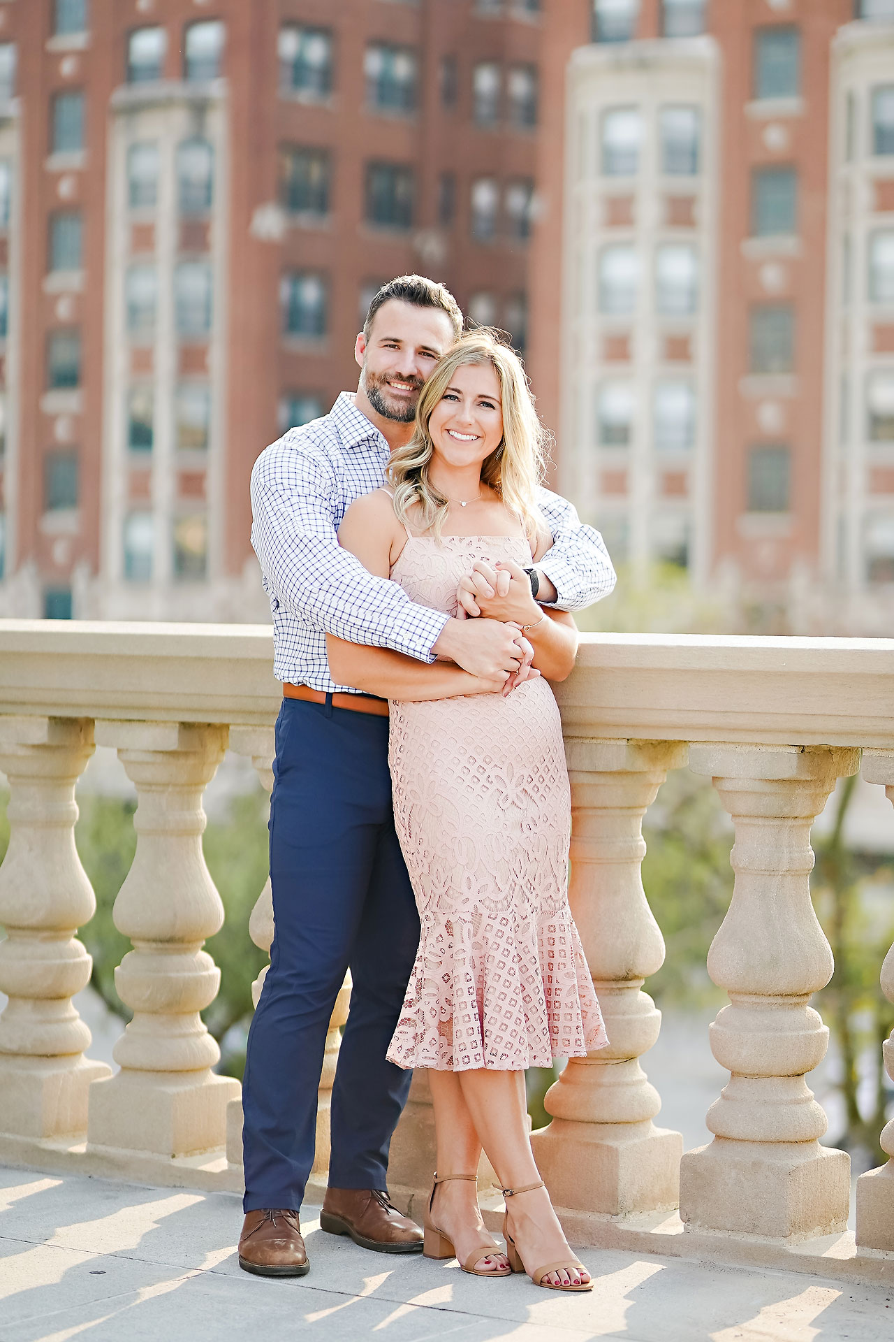 Kendall Jake Downtown Indianapolis Engagement Session 023