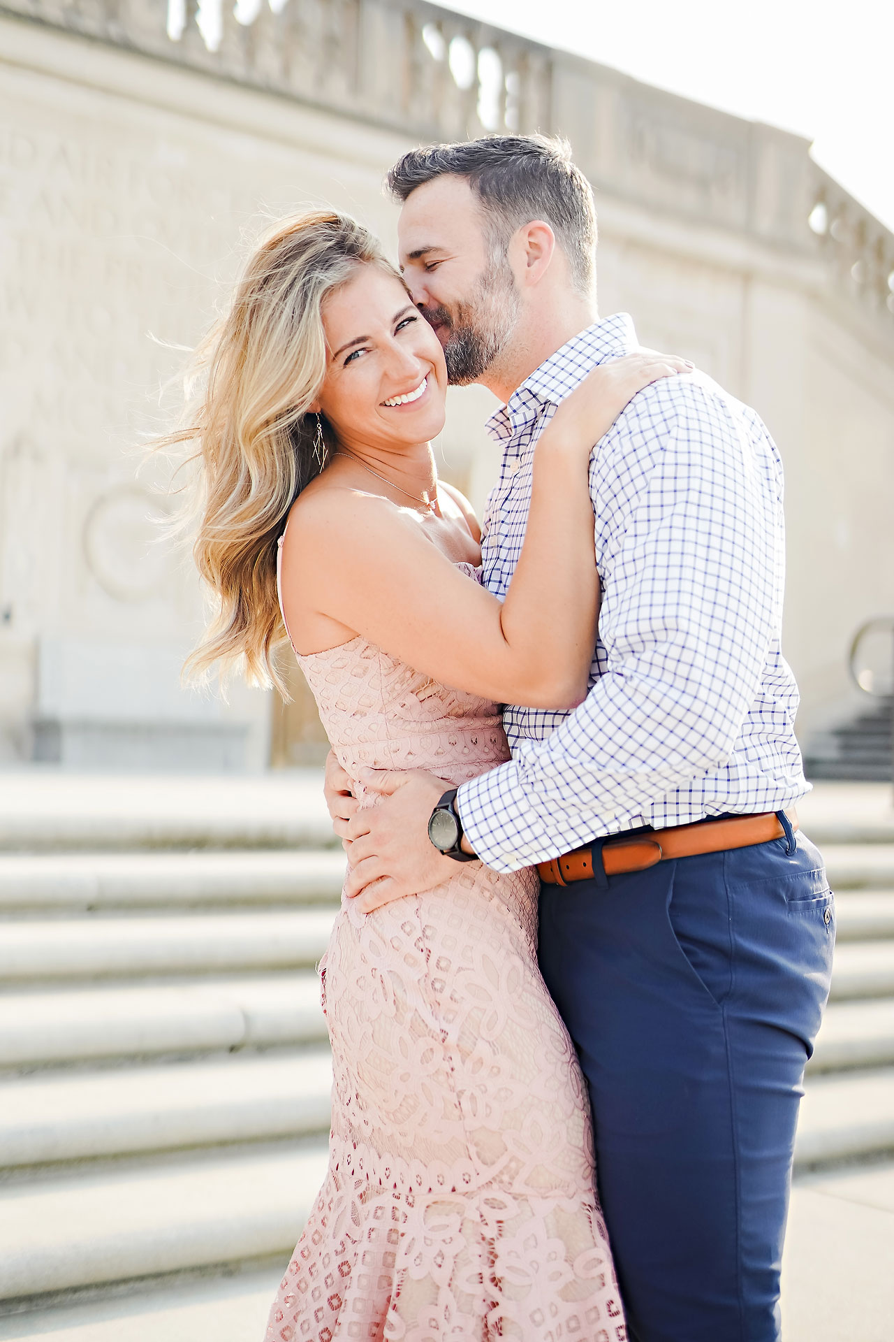 Kendall Jake Downtown Indianapolis Engagement Session 025