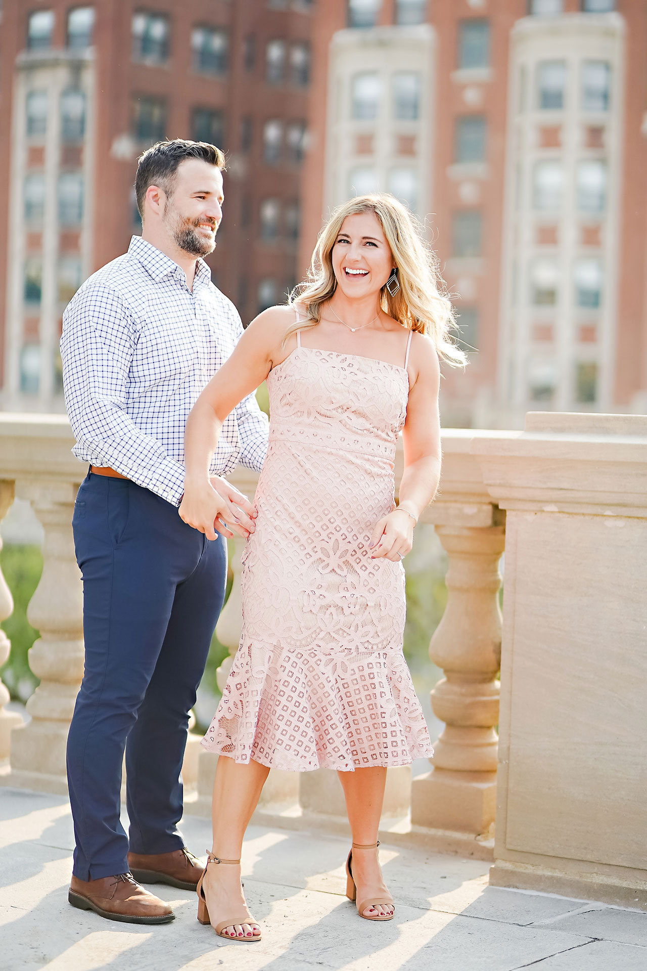 Kendall Jake Downtown Indianapolis Engagement Session 026