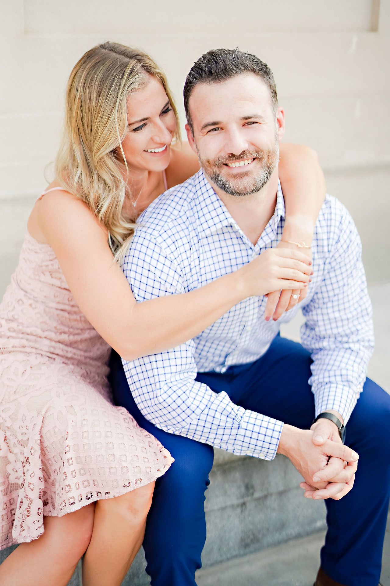 Kendall Jake Downtown Indianapolis Engagement Session 028