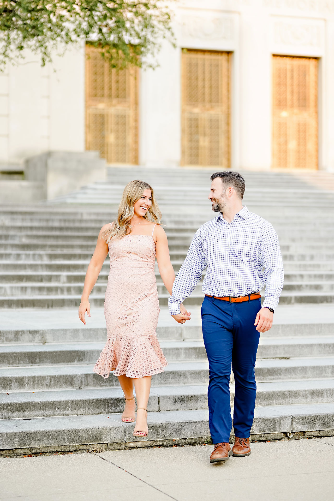 Kendall Jake Downtown Indianapolis Engagement Session 030