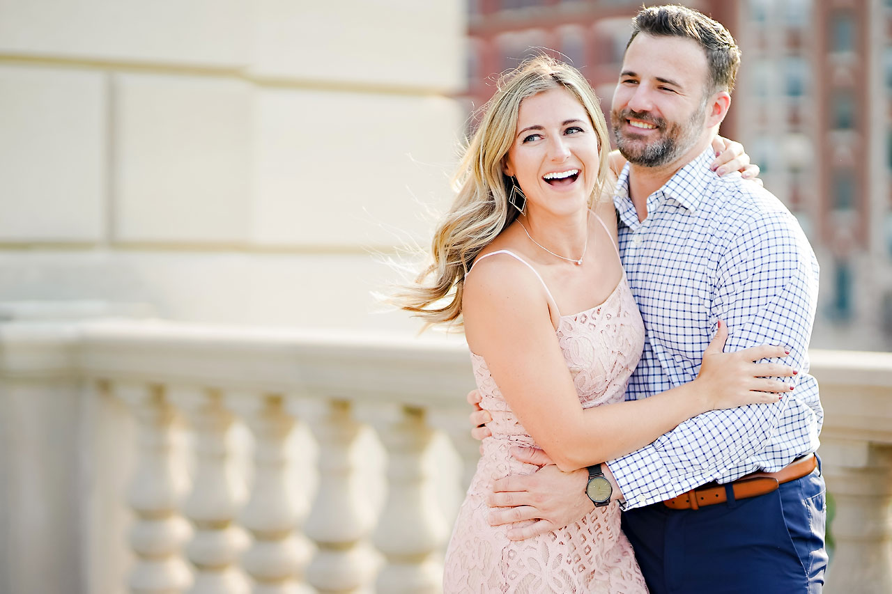Kendall Jake Downtown Indianapolis Engagement Session 031