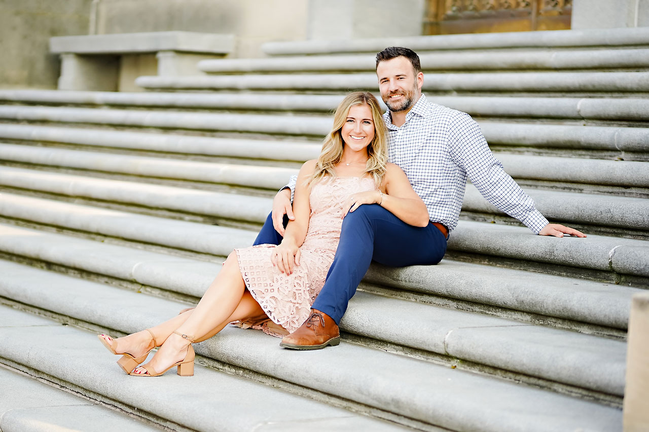 Kendall Jake Downtown Indianapolis Engagement Session 033