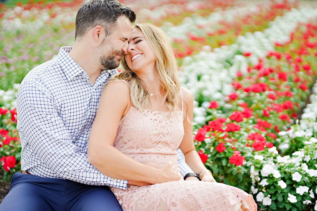 Kendall Jake Downtown Indianapolis Engagement Session 034