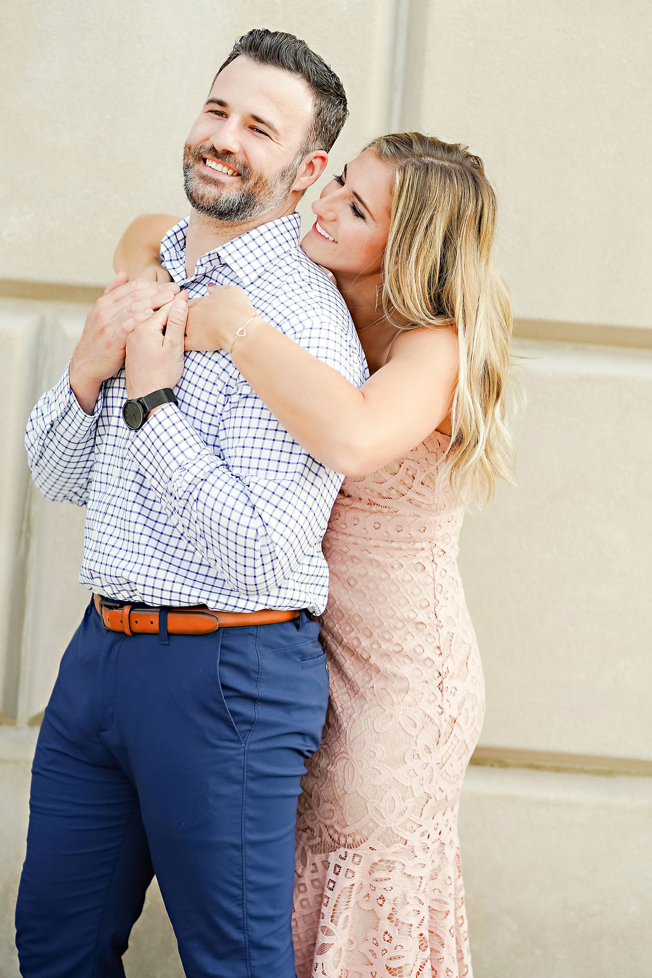 Kendall Jake Downtown Indianapolis Engagement Session 035