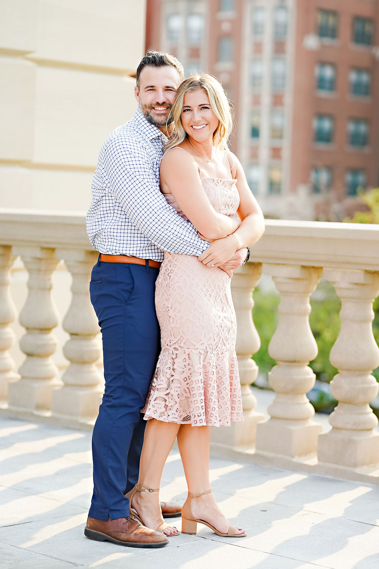 Kendall Jake Downtown Indianapolis Engagement Session 036