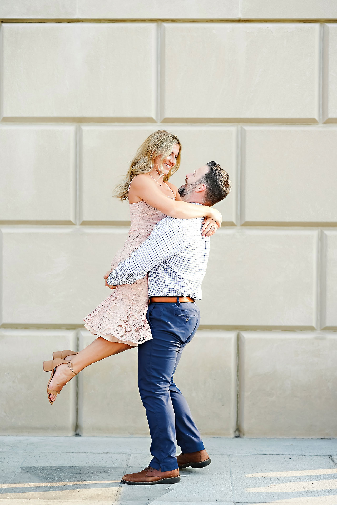 Kendall Jake Downtown Indianapolis Engagement Session 037