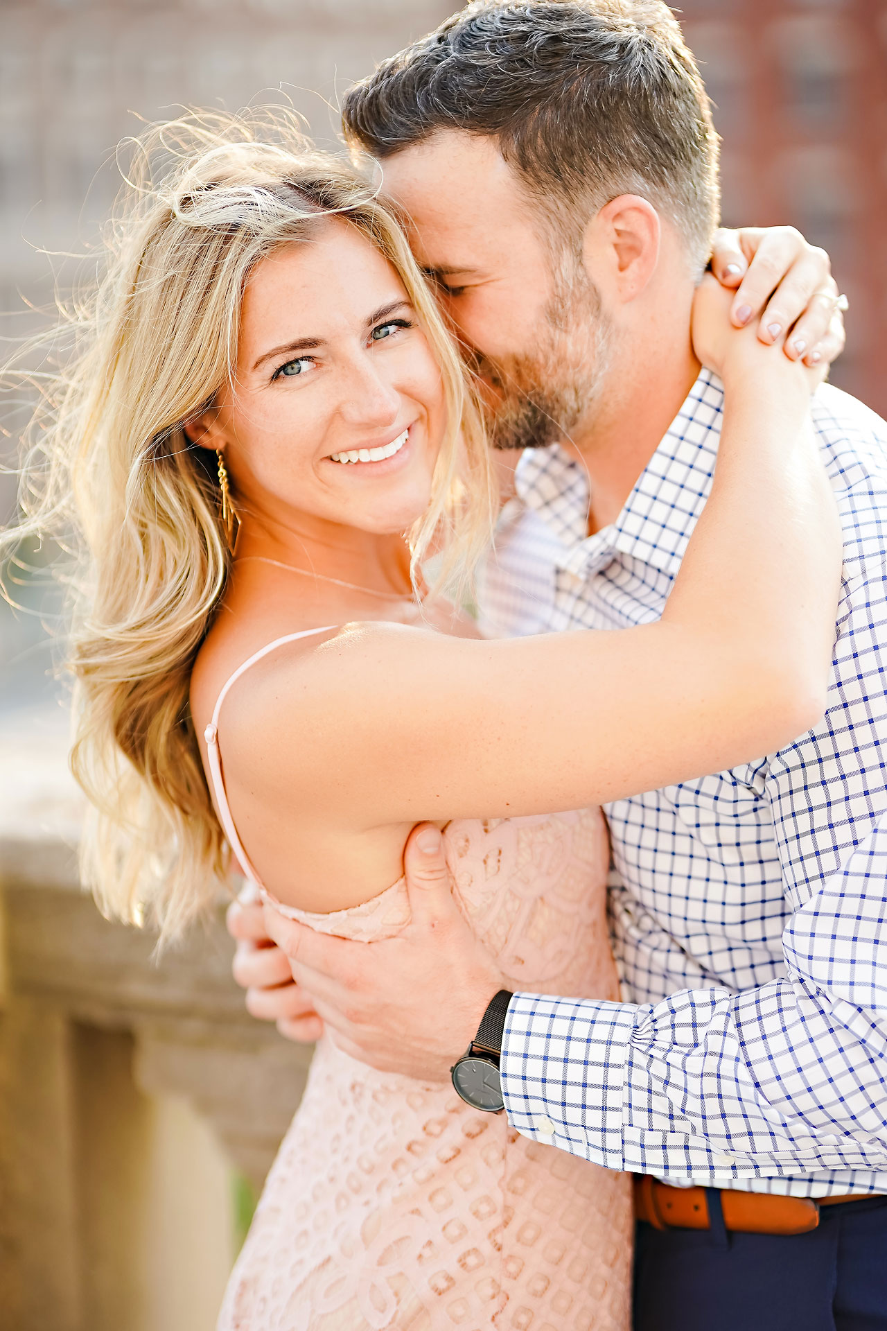 Kendall Jake Downtown Indianapolis Engagement Session 038