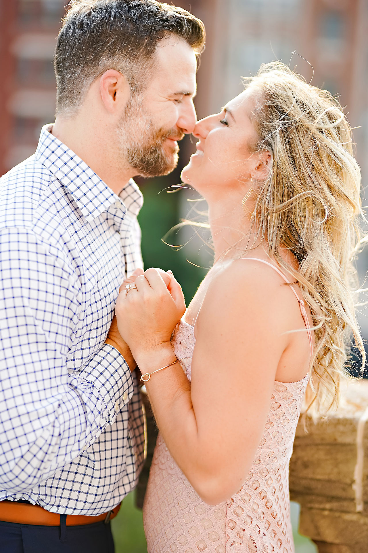 Kendall Jake Downtown Indianapolis Engagement Session 040