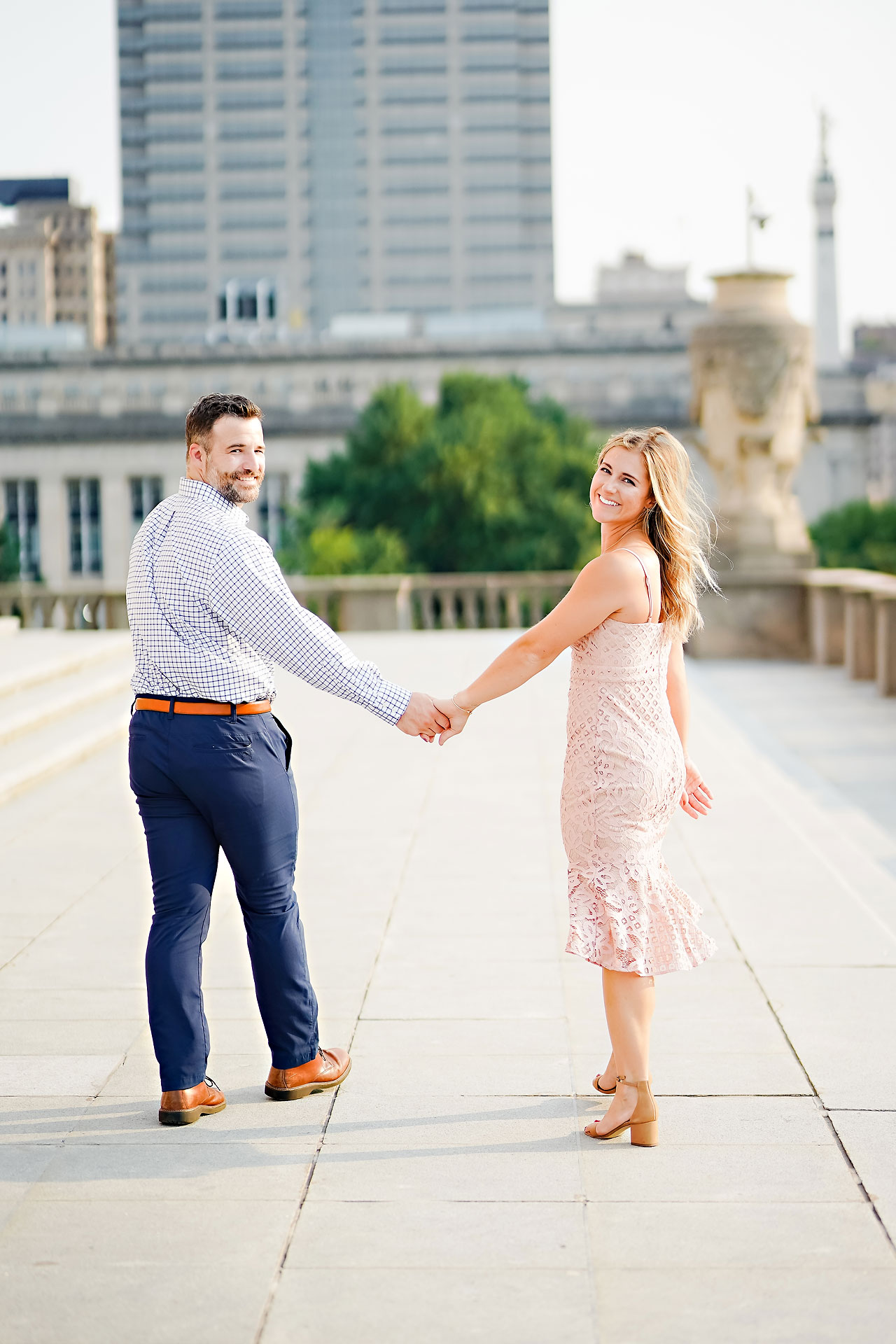 Kendall Jake Downtown Indianapolis Engagement Session 041