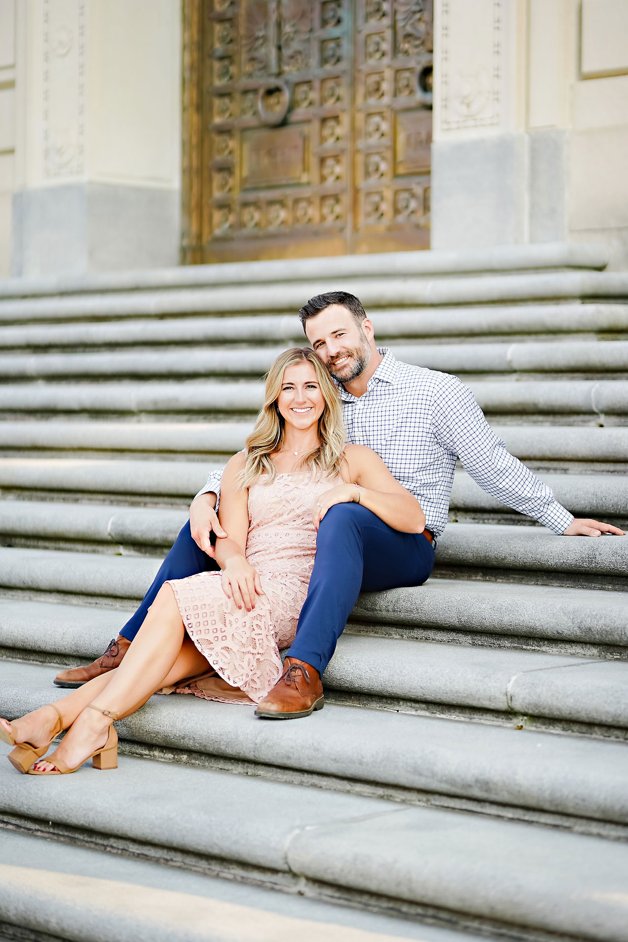 Kendall Jake Downtown Indianapolis Engagement Session 042