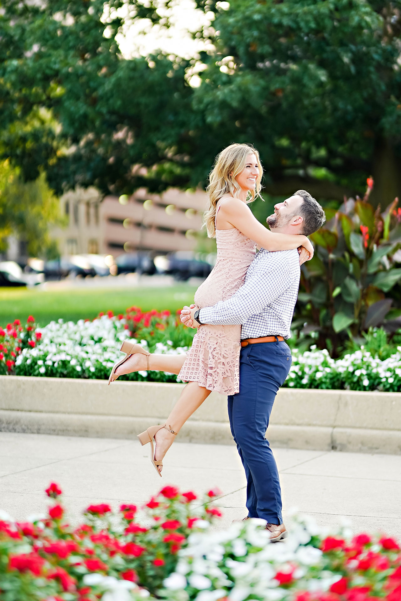 Kendall Jake Downtown Indianapolis Engagement Session 044