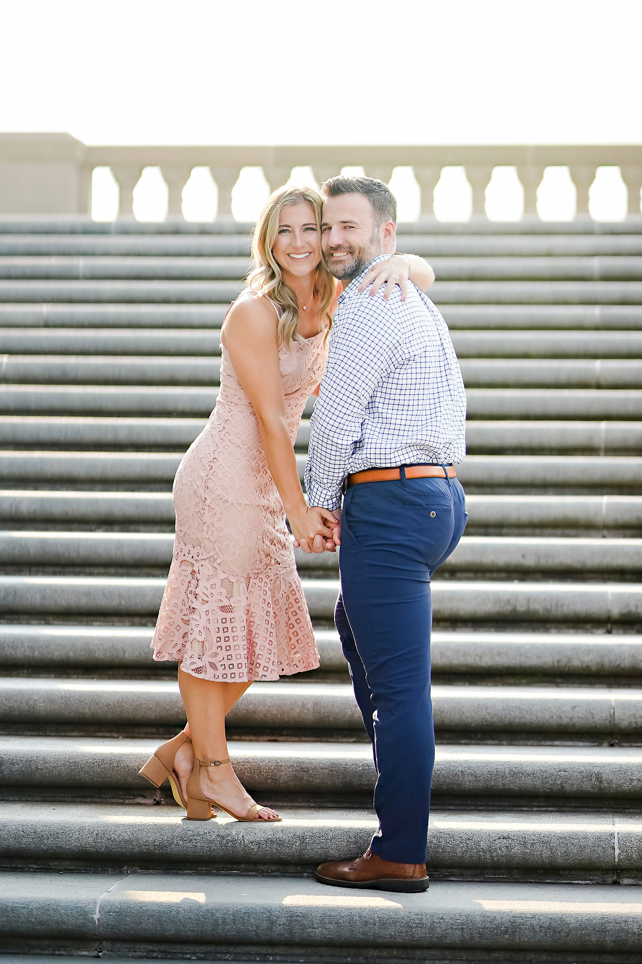 Kendall Jake Downtown Indianapolis Engagement Session 045