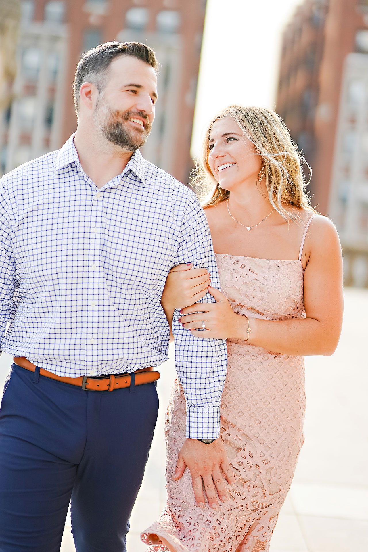 Kendall Jake Downtown Indianapolis Engagement Session 046