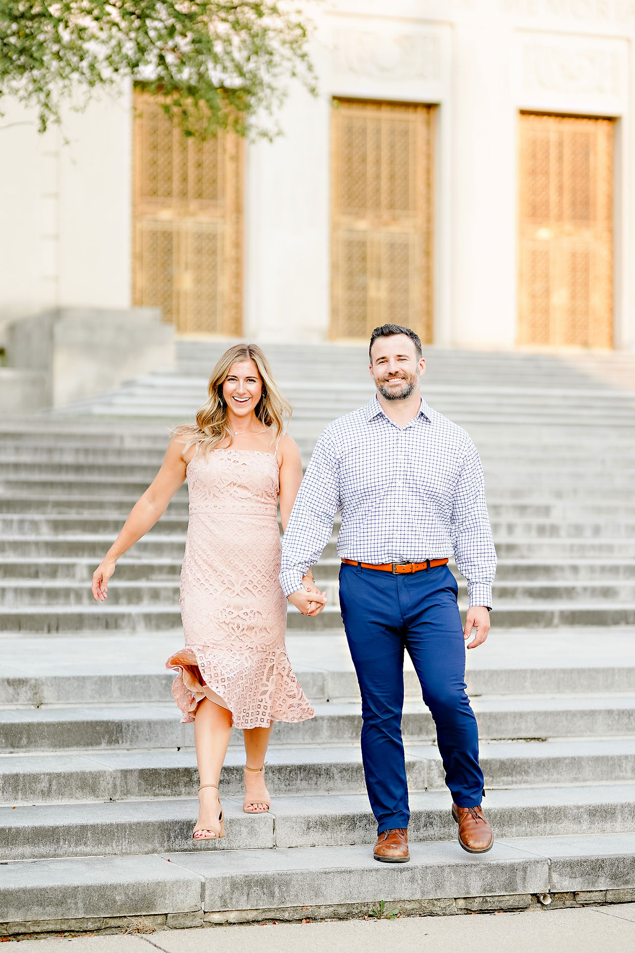 Kendall Jake Downtown Indianapolis Engagement Session 048