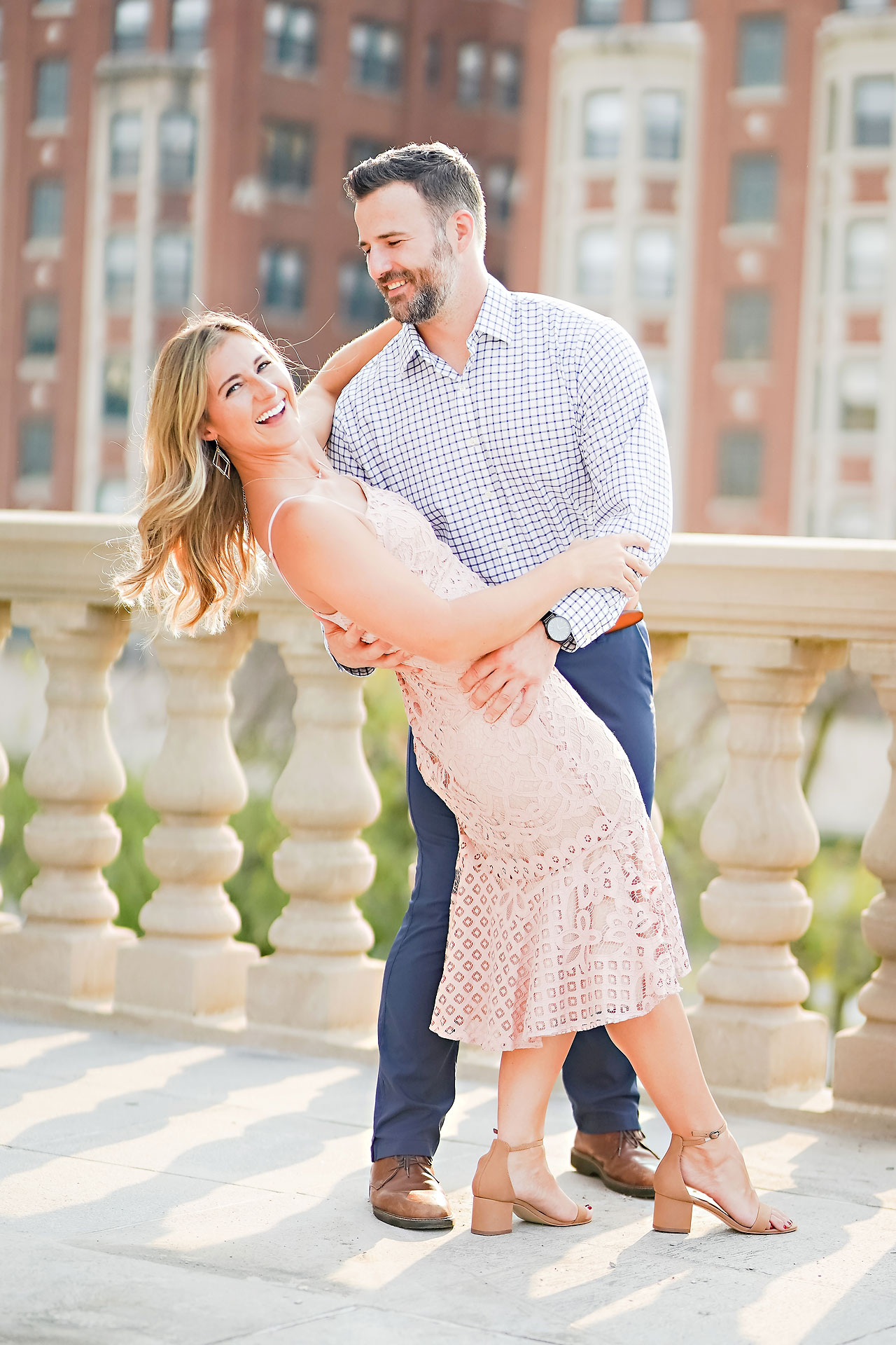 Kendall Jake Downtown Indianapolis Engagement Session 049