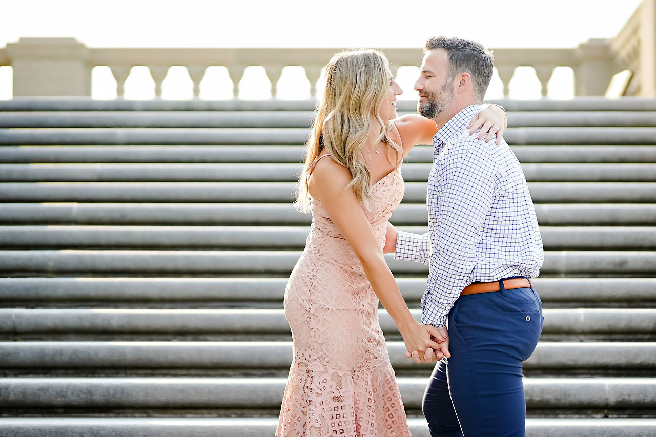 Kendall Jake Downtown Indianapolis Engagement Session 053
